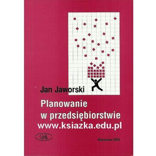 Planowanie w przedsiębiorstwie, Politechnika Rzeszowska