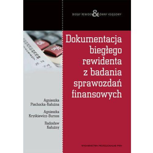 Dokumentacja biegłego rewidenta z badania sprawozdań finansowych (9788301165123)