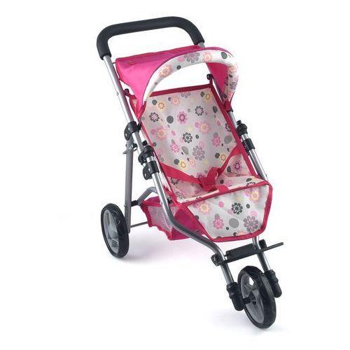 Dolls World, Wózek spacerowy dla lalek, Trójkołowy, towar z kategorii: Wózki dla lalek