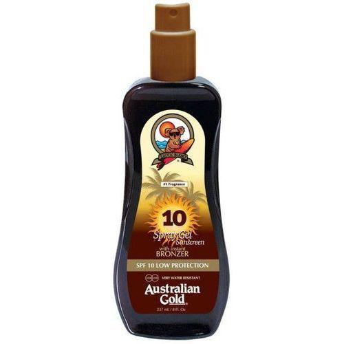 Australian gold spf 10 spray gel bronzer | spray do opalania z bronzerem 237ml