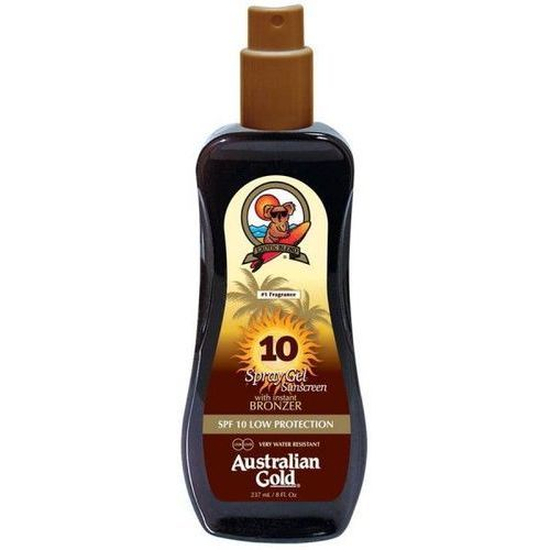spf 10 spray gel bronzer | spray do opalania z bronzerem 237ml marki Australian gold