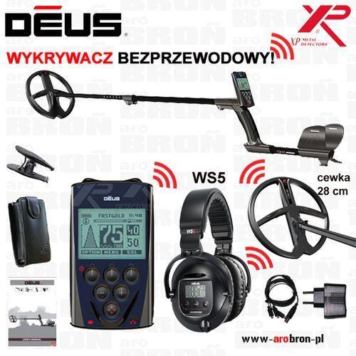 Wykrywacz metali XP DEUS WS5 cewka 28 cm DD (11