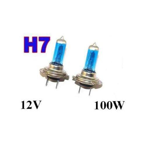 Lumiko usa Żarówki (2szt.) samochodowe h7 (12v) xenon h.i.d. blue vision (moc 100w) - homologowane.