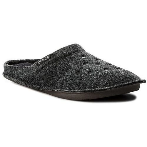 Crocs Kapcie - classic slipper 203600 black/black
