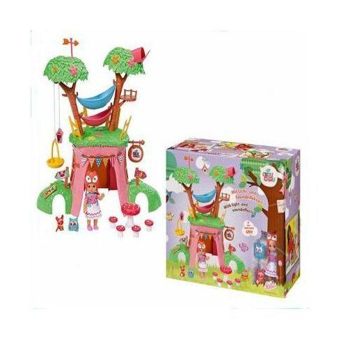 Interaktywny domek na drzewie chou chou + lalka marki Zapf creation
