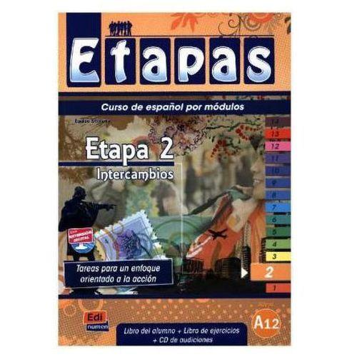 Etapas 2 Podręcznik + ćwiczenia + CD audio (2016)