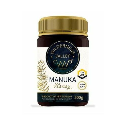 Ekowital Miód manuka umf 13+ mgo 406+ 500 g wilderness valley ltd