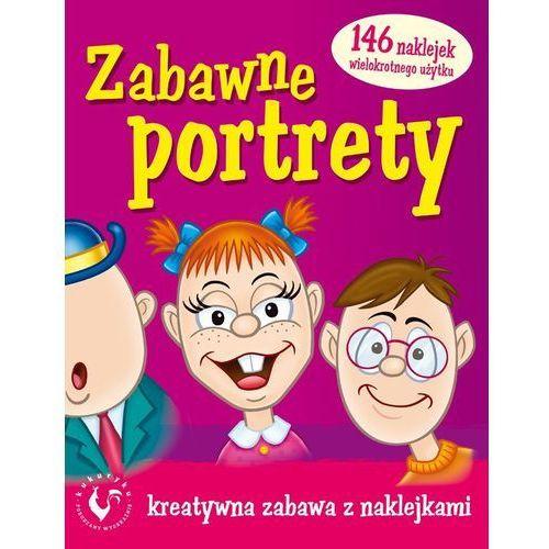 Kukuryku - Książeczka Zabawne portrety 60006