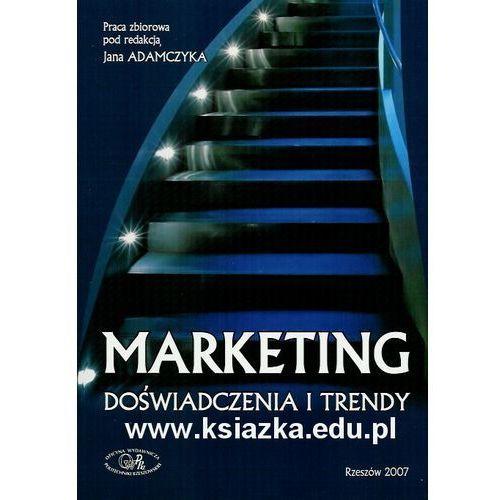 Marketing. Doświadczenia i trendy., Politechnika Rzeszowska