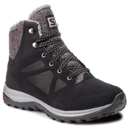 Salomon Trekkingi - ellipse freeze cs wp 406132 21 v0 black/phantom/beach glass