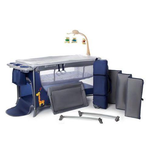 Łóżeczko turystyczne KINDERKRAFT Joy z akcesoriami Granatowy + DARMOWY TRANSPORT! (5902021215386)