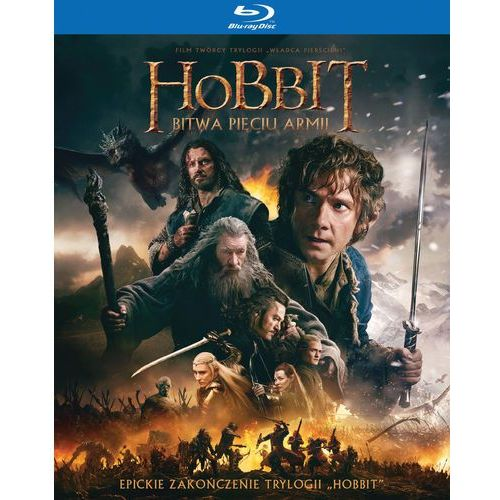 Peter jackson Hobbit: bitwa pięciu armii - wydanie rozszerzone (3 blu-ray)