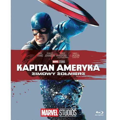 Anthony russo, joe russo Kapitan ameryka: zimowy żołnierz (bd) kolekcja marvel (płyta dvd)