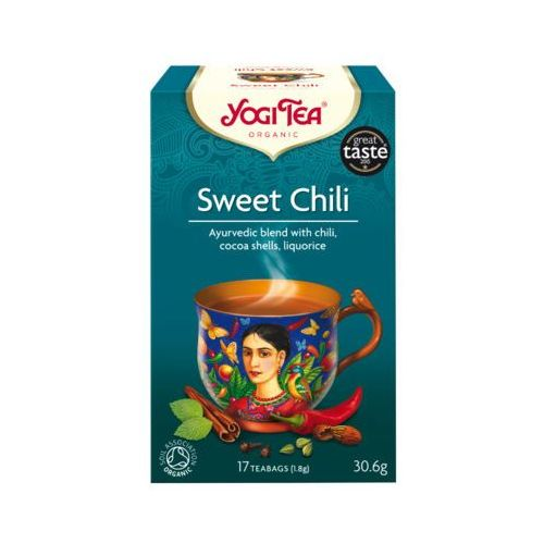 Yogi tea 17x1,8g herbata słodkie chilli bio