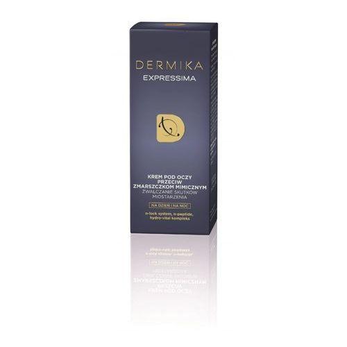 Dermika Expressima, 15 ml. Krem pod oczy przeciw zmarszczkom mimicznym - Dermika DARMOWA DOSTAWA KIOSK RUCHU