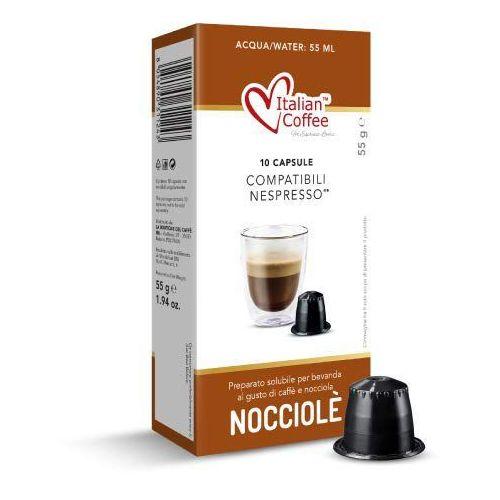 Nocciola italian coffee kapsułki do nespresso – 10 kapsułek marki Nespresso kapsułki
