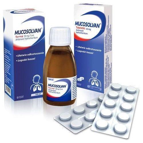 MUCOSOLVAN 30mg x 20 tabletek z kategorii pozostałe zdrowie