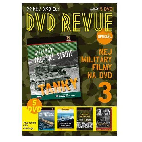 DVD Revue speciál 3 - Nej military filmy na DVD - 5 DVD neuveden