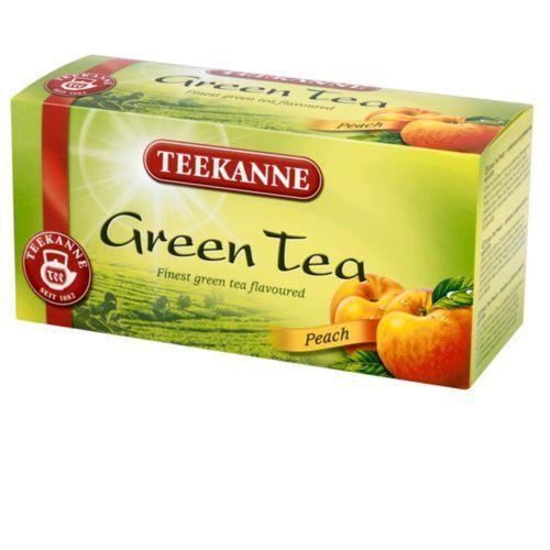 TEEKANNE 20x1,75g Green Tea Peach Herbata Zielona (5901086000562)