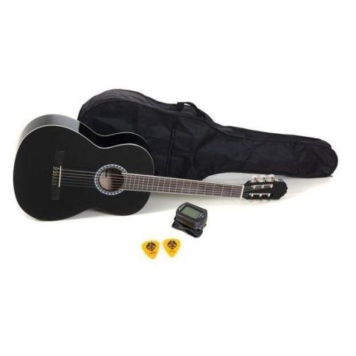 Gewa (ps510186) gitara koncertowa vgs basic set 4/4 czarna