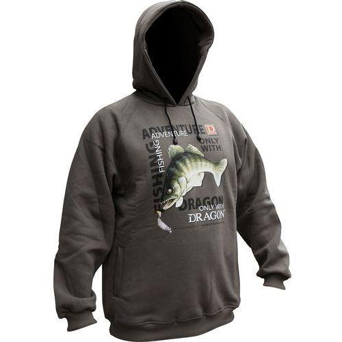 Dragon Bawełniana bluza z kapturem roz. L / BL-14-03