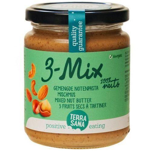 Terrasana Krem orzechowy mix (3 orzechy) bio masło orzechowe 250g