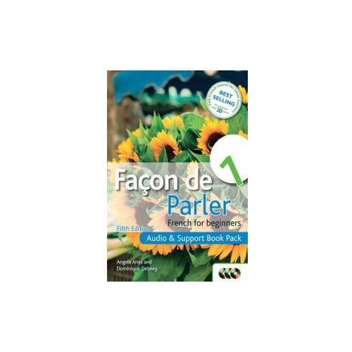 Facon De Parler 1 French for Beginners: Audio & Support Book Pack