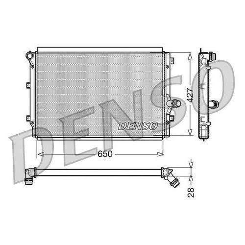 Denso Chłodnica, układ chłodzenia silnika drm32017