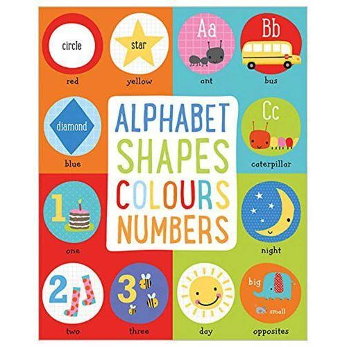 Alphabet, Shapes, Colours, Numbers (9781786929198)