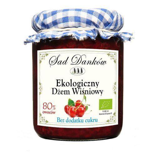 Sad danków Dżem wiśniowy bez cukru 260g bio eko