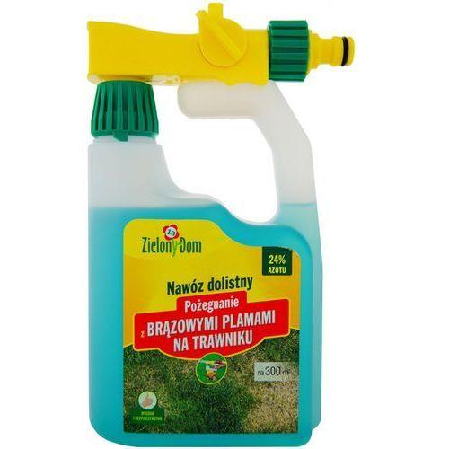 Pożegnanie z brązowymi plamami na trawniku Zielony Dom : Pojemność - 950 ml, 5900026002895