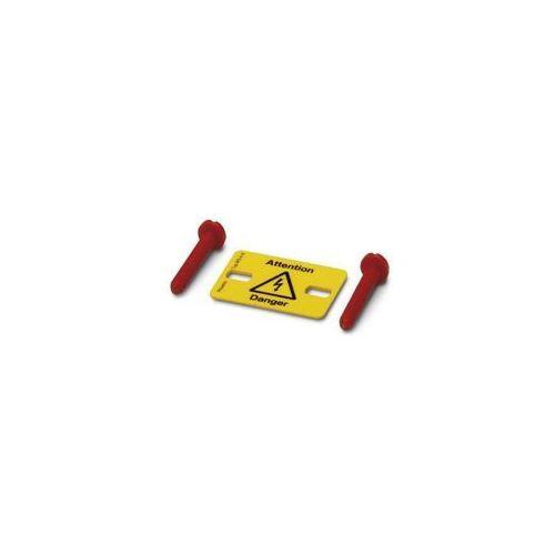 Etykieta ostrzegawcza 1004225 Phoenix Contact WS 4-10