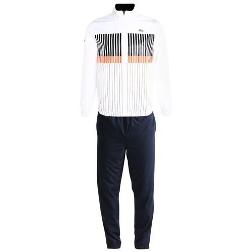 Lacoste Sport SET Dres white/navy blue/mexico red/navy blue (3614038706369)