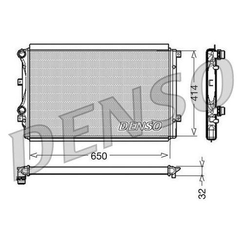 Chłodnica, układ chłodzenia silnika DENSO DRM32015 (8717613470411)
