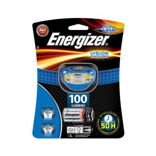 ENERGIZER 100 Lumens Vision Headlight Latarka czołowa + 3AAA