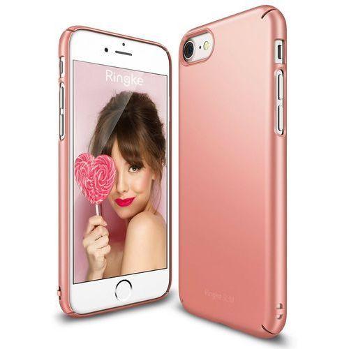 Rearth Ringke Slim Rose Gold | Obudowa + folia ochronna dla modelu Apple iPhone 7 - Rose Gold