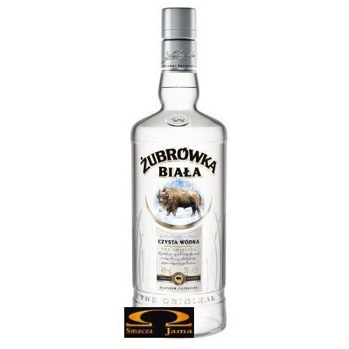 Polmos białystok Wódka żubrówka biała 0,7 l z kategorii Alkohole