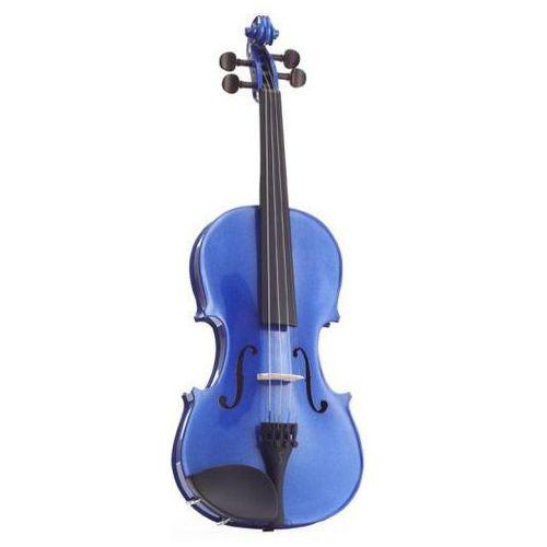 Stentor 1401abf skrzypce 1/4 harlequin, zestaw, niebieski