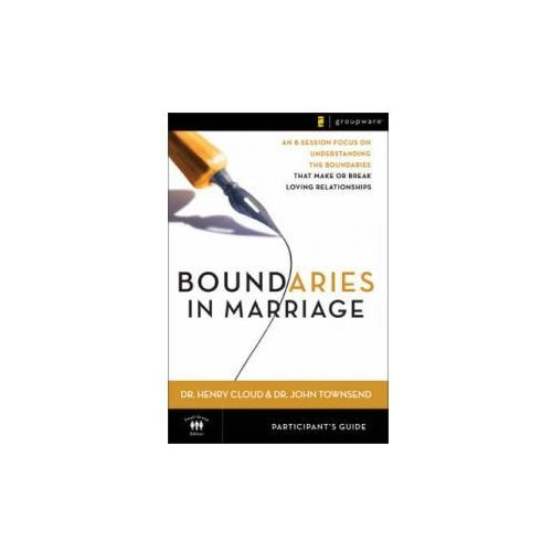 Boundaries in Marriage Participant's Guide (9780310246152)