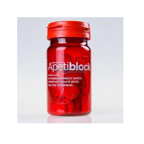 Apetiblock 50 tabl. z kategorii Tabletki na odchudzanie