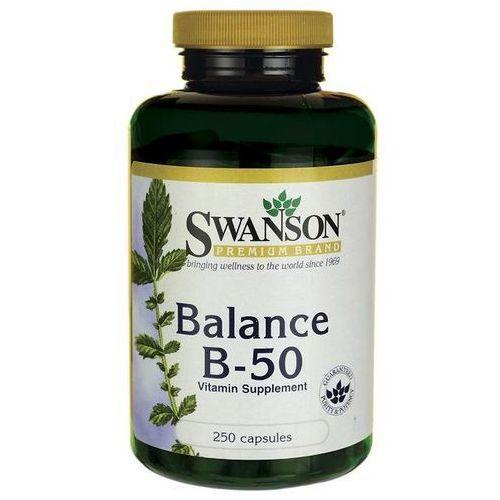 Witaminy Swanson Balance B-50 100tab Najlepszy produkt