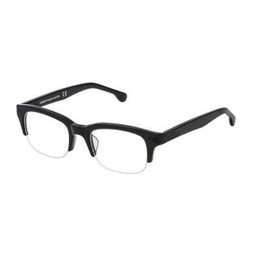Okulary korekcyjne vl4118 0blk marki Lozza
