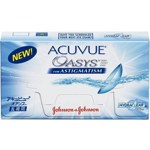 Johnson & johnson Nowość acuvue oasys for astigmatism