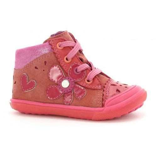 Buty dziecięce BARTEK malinowe 61847 1AW, kolor różowy