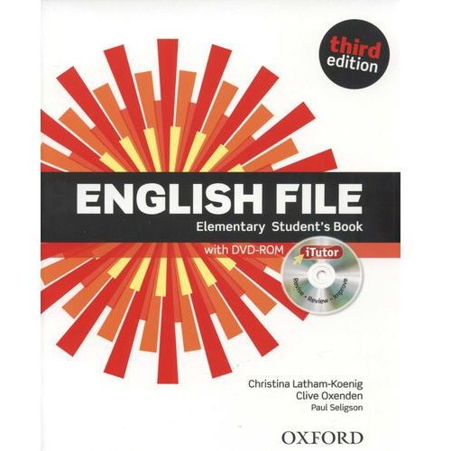 English File Elementary - Student's book (+ DVD) (168 str.)