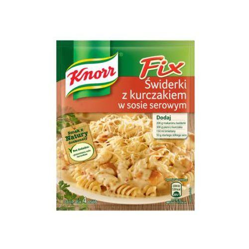 Świderki z kurczakiem w sosie serowym 45 g marki Knorr