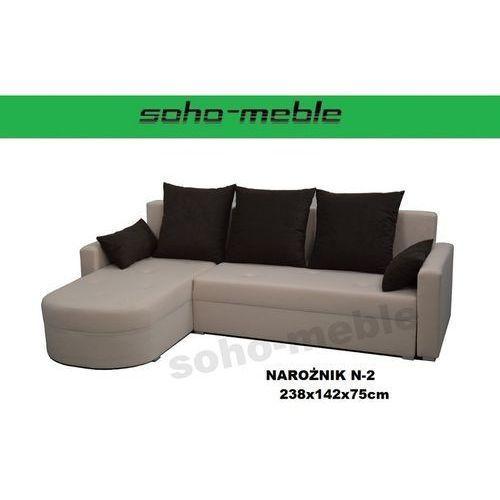 NAROŻNIK N-2 238x142x75cm NOWOŚĆ!!! (narożnik do salonu) od soho-meble