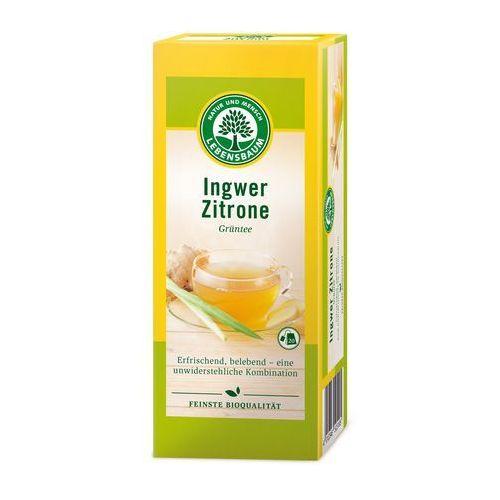 Herbata zielona imbir-cytryna bio (20x2g) - marki Lebensbaum