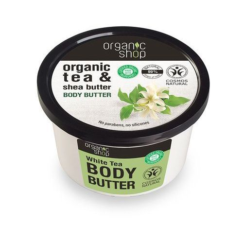 _organic tea & shea butter body butter 250ml marki Organic shop