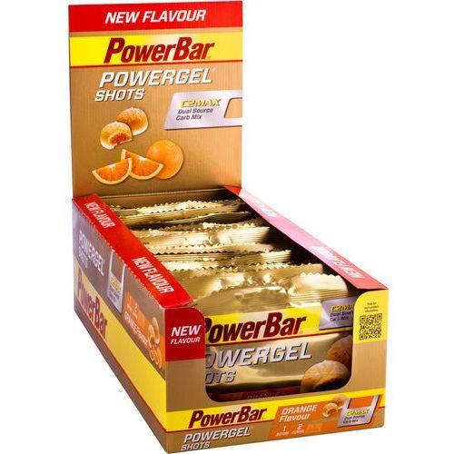 powergel shots żywność dla sportowców orange 16 x 60g 2019 batony i żele energetyczne marki Powerbar